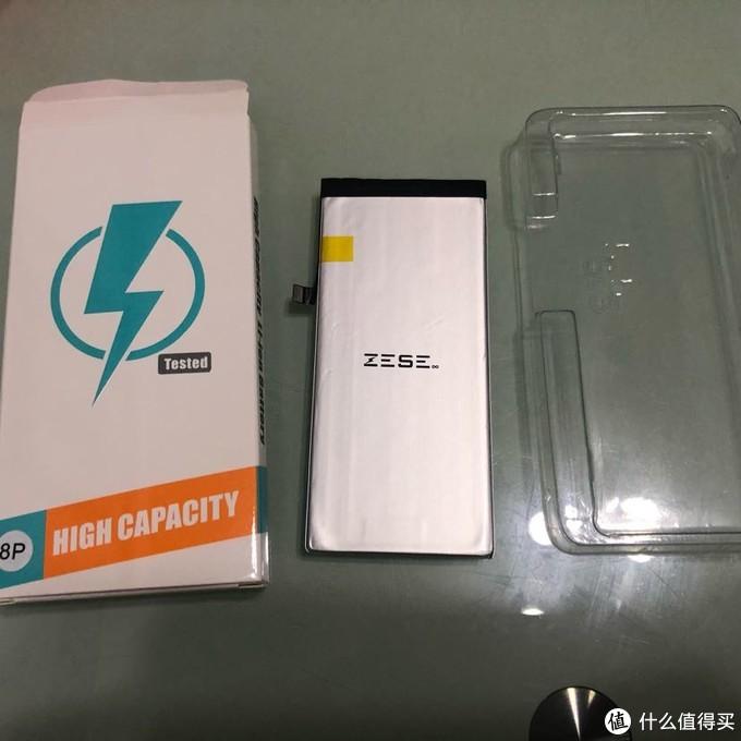 电池包装盒略显简陋,无中文标识,日后应该会改善的,也有一个包装通病,文后会再说下