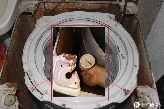 深度清理波轮式洗衣机内桶