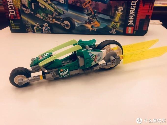 GoLe 幻影忍者 71709 杰和劳埃德的极速车