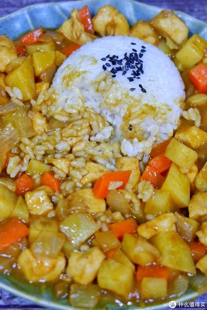 好吃到舔盘!!咖喱鸡肉饭~浓郁美味简单易做