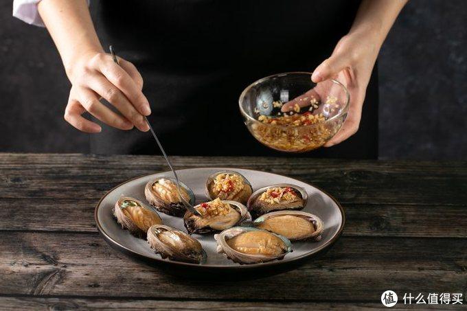 微蒸烤一体机能做什么?小白都能做蒜蓉豉汁鲍鱼