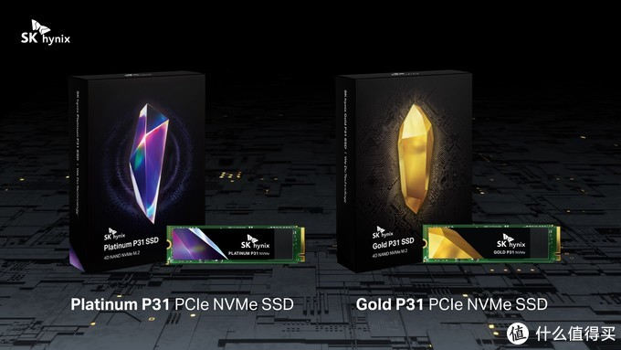 128层4D TLC颗粒:SK海力士发布 Gold P31、Platinum P31 系列固态硬盘