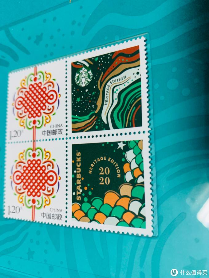 星巴克出邮票了?是!星巴克×中国邮政 2020人鱼纪念款邮票套装星礼包