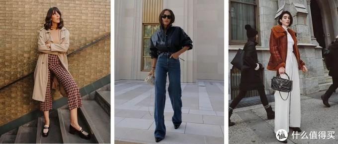 阔腿裤别乱穿!想要显瘦又时髦,这几组搭配,复制粘贴美翻天!