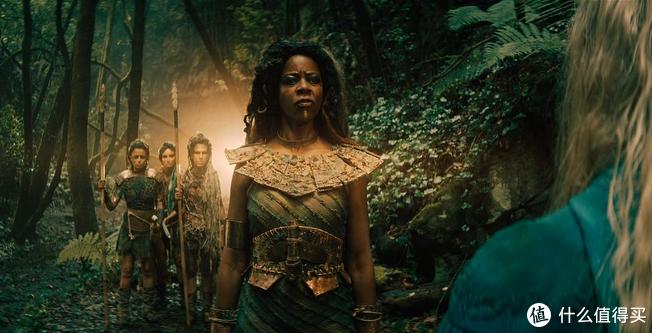 希里在森林遇到的种族