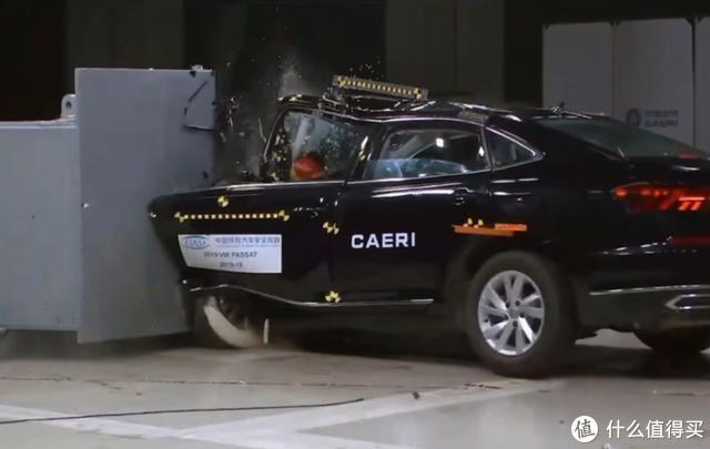 大众帕萨特C-IASI碰撞测试成绩倒数第一