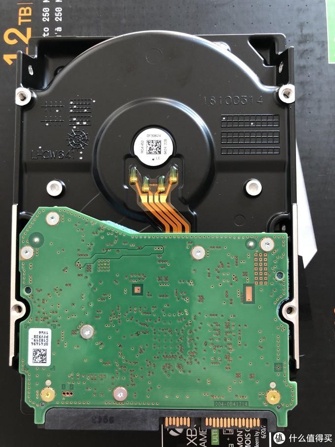 WD_BLACK D10 12TB 拆壳录