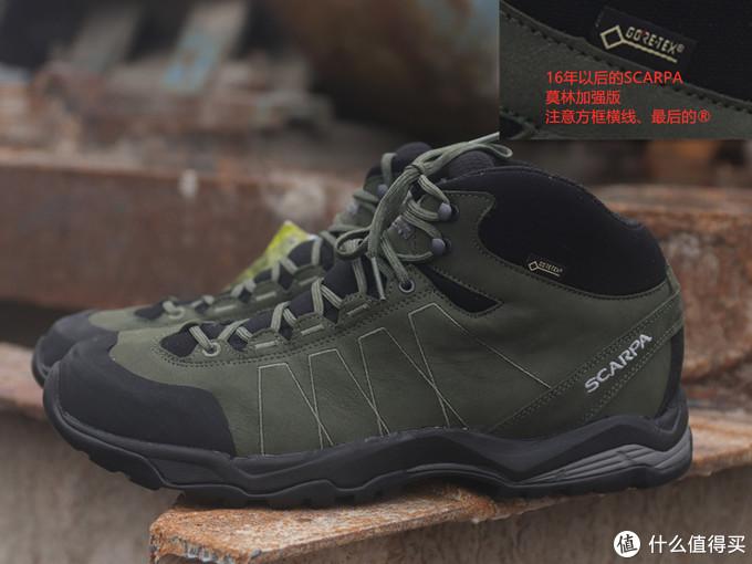 GORE 标志看户外鞋 年份(2020年版)