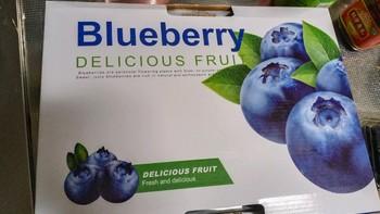 铁杆张大妈体验党 篇十:正面评价,提前半月预定的京东自营智利蓝莓到货开箱试吃小结