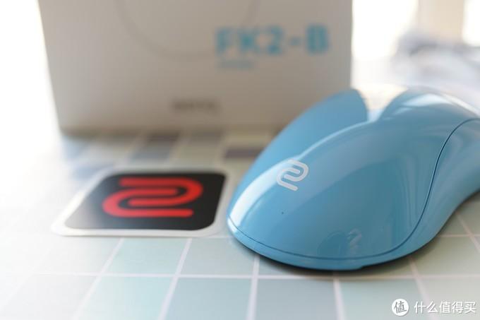 抓握流体验再升级——卓威FK2-B蓝色鼠标体验分享