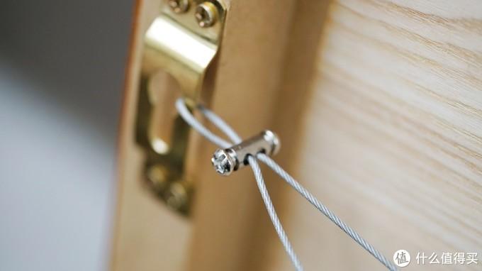 安全钢丝细节