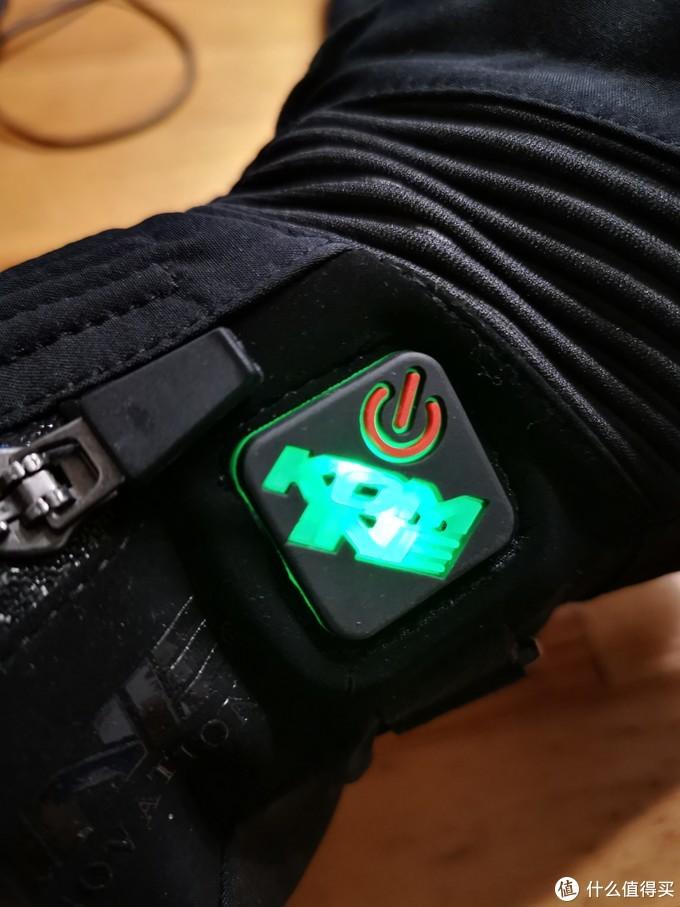 KOMINE 摩托车 冬季电加热手套 GK804 和国产电池组