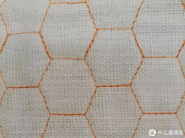△细线密集绗缝
