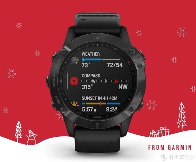 Fenix6X Pro Solar太阳能智能运动手表