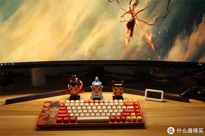 我命由我不由天!哪吒从不认命--AKKO ACG84哪吒主题机械键盘开箱