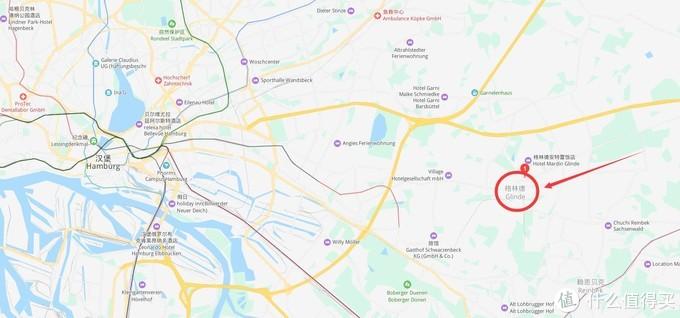 必酷公司总部格林德,距汉堡市中心约20公里