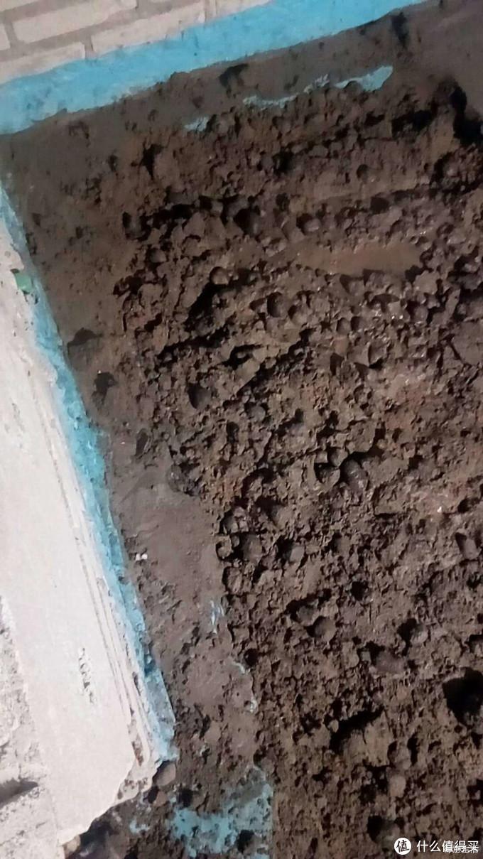 陶粒回填,没有使用废弃砖渣