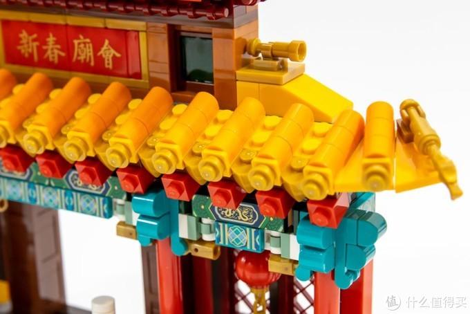 爆竹声中一起过年!乐高 80105 新春庙会