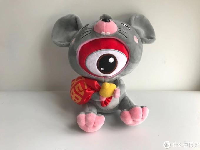 人生第一只公仔:浪鼠吉祥物