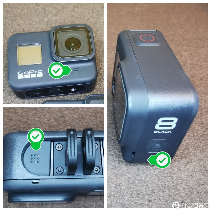GoPro Hero 8 运动相机不运动