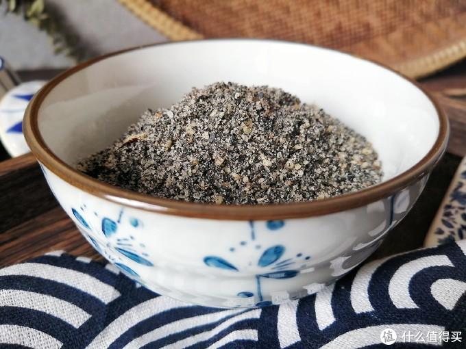 芝麻核桃粉自己在家做,香喷喷货真价实吃法多,做上一回吃一冬