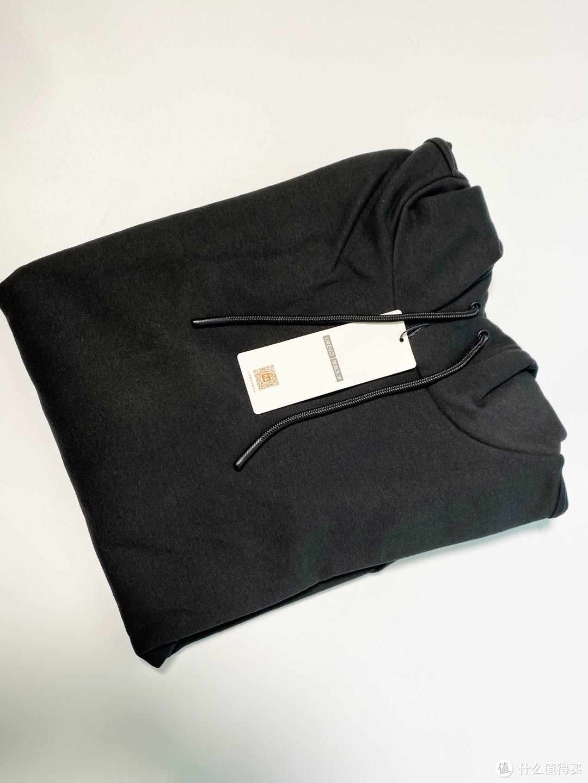 99的小米有品卫衣开箱,柔软舒适但有静电