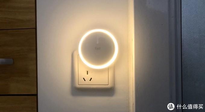 开灯居然更省电?米家双感应小夜灯晒单