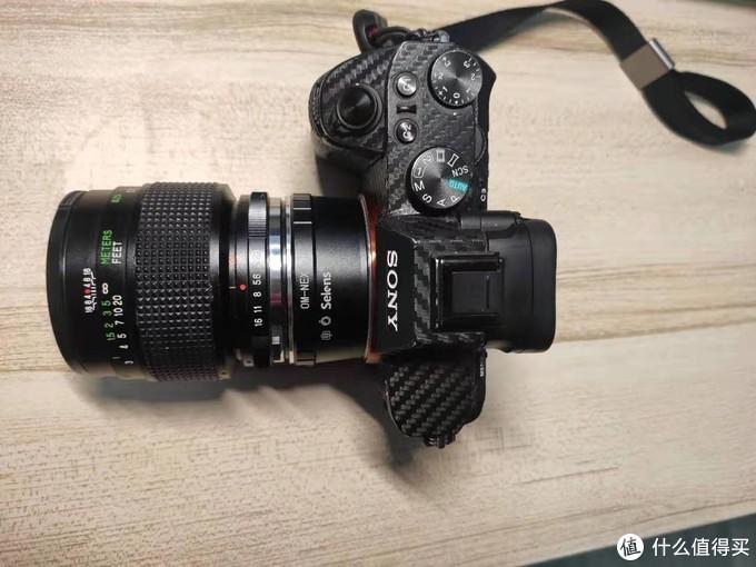Sony A7M2 + Vivitar 55mm F2.8 Marco