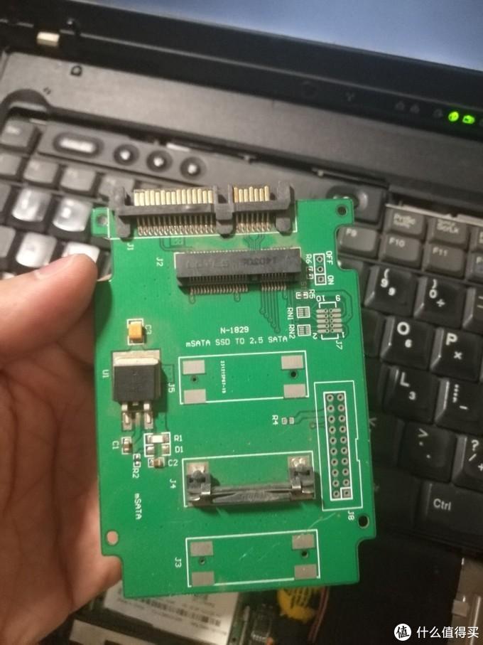 给15年前的笔记本装固态上USB3.0