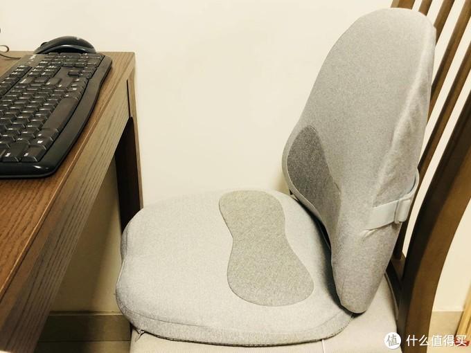 Aika10秒速热人体工学腰靠和坐垫,坐感舒适度瞬间提升了几个档次