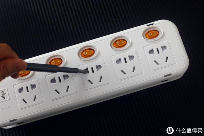 安全这点最重要——外观复古的aigo爱国者防过载插线板