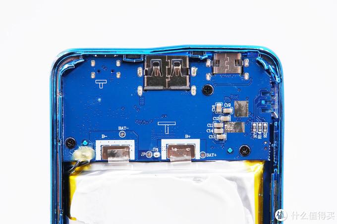 拆解报告:aigo爱国者10000mAh 18W PD双向快充移动电源S100PD