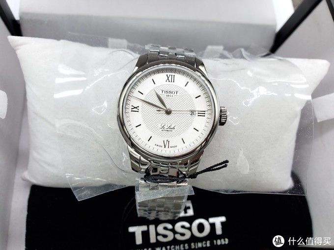 海淘TISSOT天梭力洛克女款T006.207.11.038.00晒单