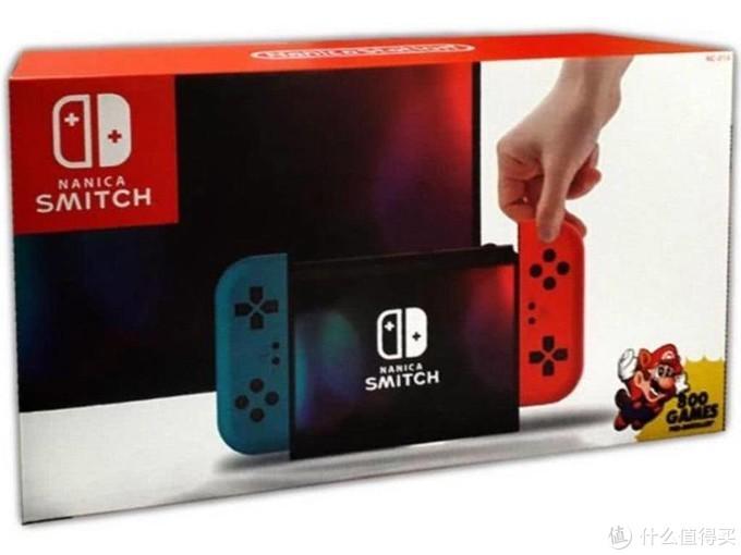 外国惊现山寨版   Switch 内置800款游戏只要500块
