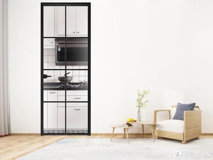 玻璃推拉门要过时啦,厨房门这么设计更耐看!
