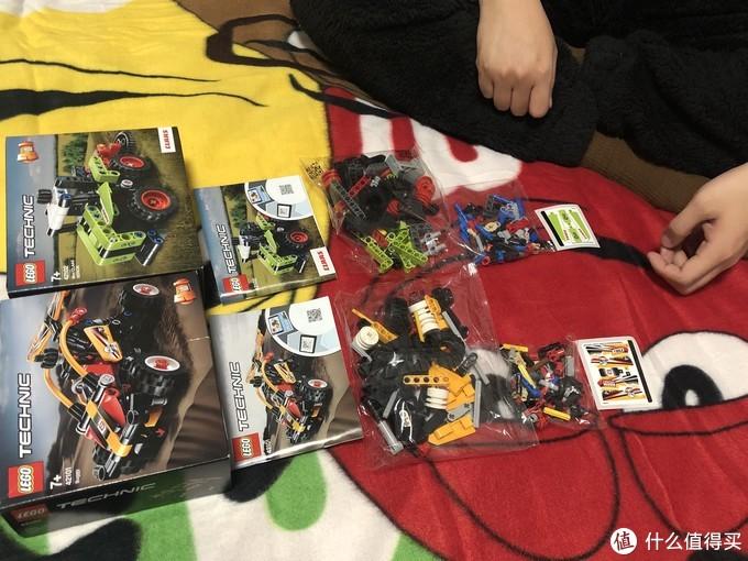 入门科技组42101+42102【首届PIG杯家庭LEGO大赛】