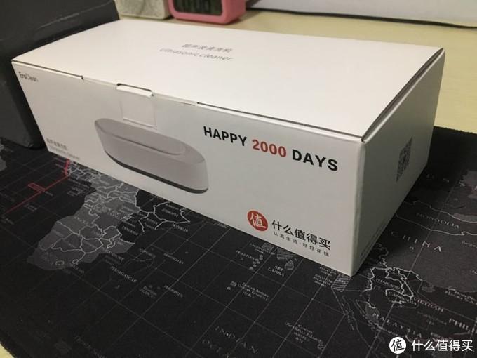 盒子告诉我这是值得买定制版超声波清洗机,下面让我来看看什么值得洗?