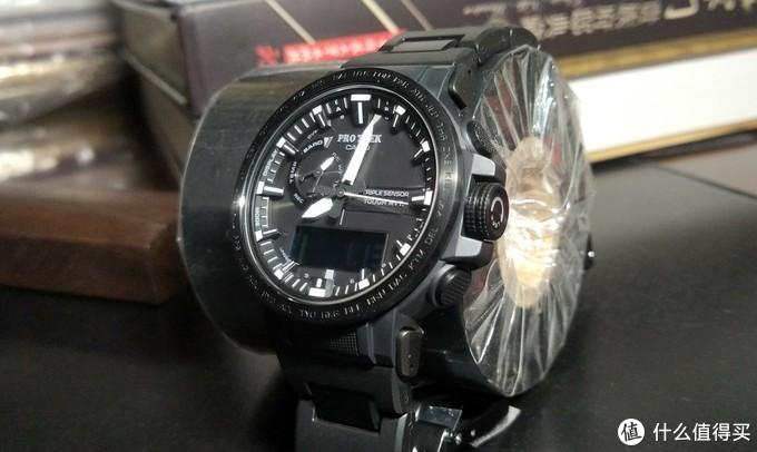 懒人买的一块表——卡西欧太阳能电波登山表PRW-60FC
