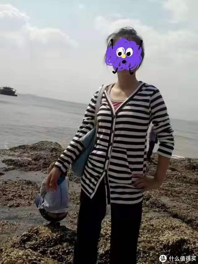 拍摄于烟台海边