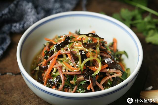 这小菜清爽解腻,清肺润肠,配粥超赞,天冷也喜欢吃