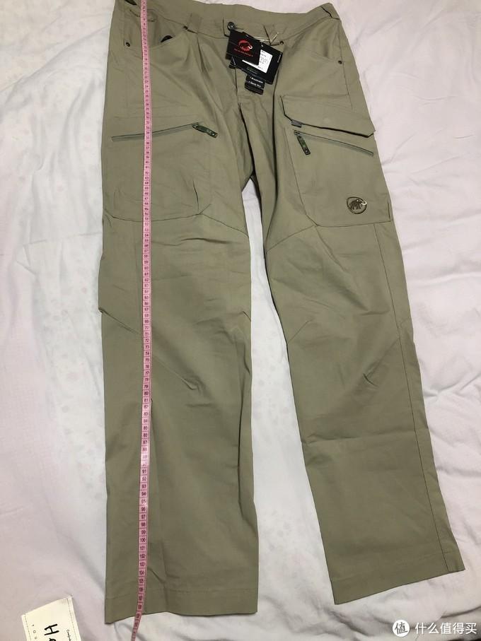 裤长108.50cm,正常长度