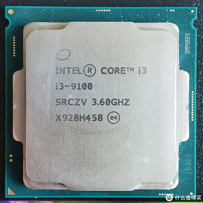 反面忘记拍了,卖家说是联想拆机CPU