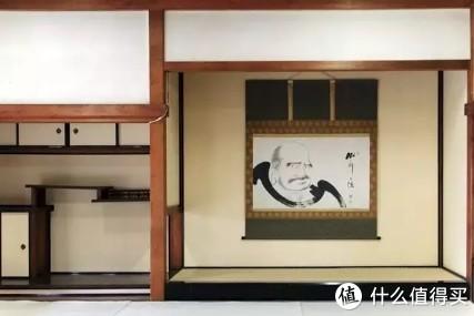 达摩形象来自于禅宗创始人达摩。图片就是建仁寺的达摩画像。