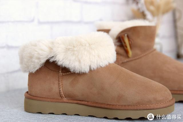零下20度,东北体验七面羊皮毛一体雪地靴