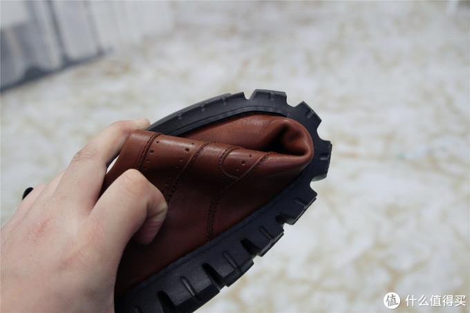 皮鞋运动鞋二合一,能走能跑还能增高,小米有品七面运动牛津鞋上脚体验