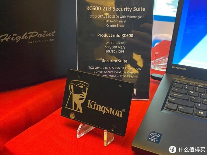 CES2020:金士顿展示自家首款PCIe4.0 M.2 SSD,采用Marvell主控!