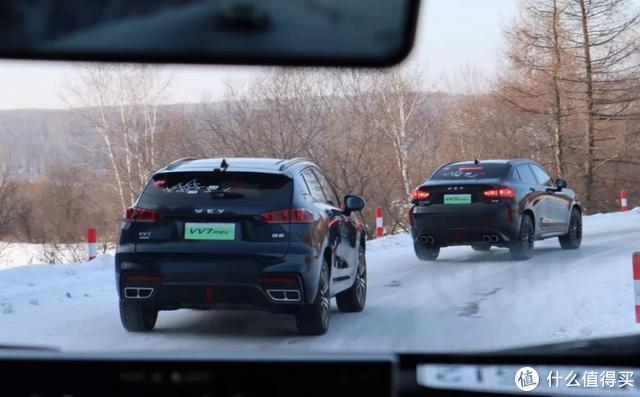 WEY VV7 PHEV冰雪驾驶:远超预期的混动四驱,是另一种形式的越级