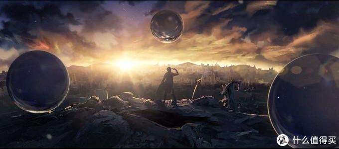 """《三体》:浩瀚的宇宙中,一切变得渺小。""""生存还是死亡,这是一个问题"""""""