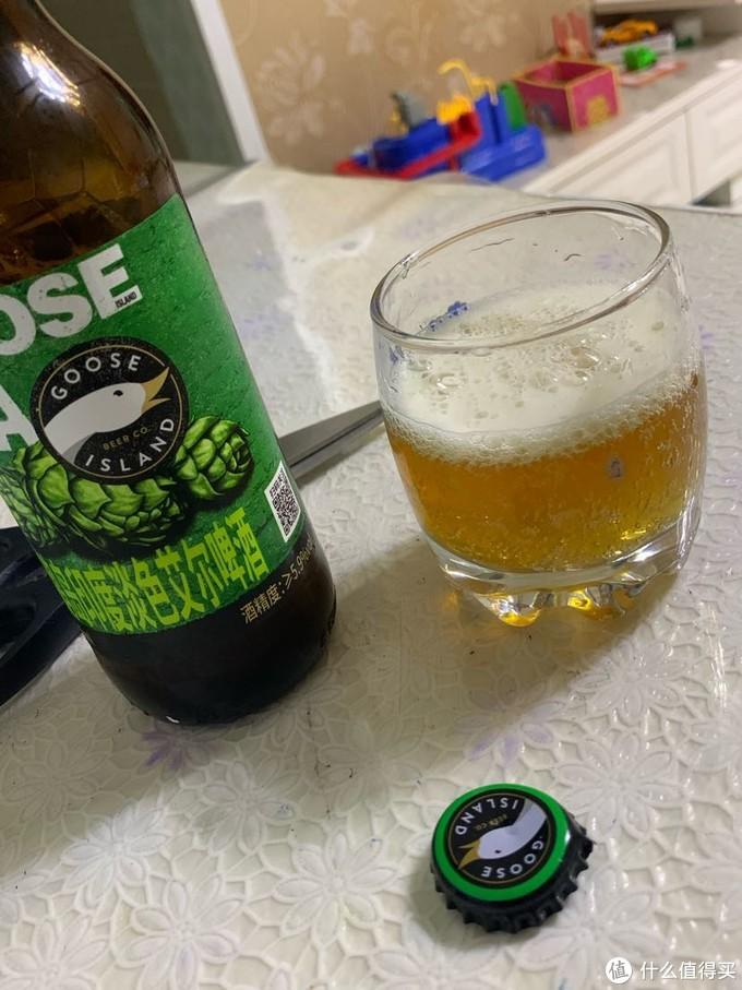 鹅岛印度淡色艾尔啤酒初尝