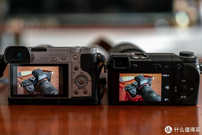 Nex6的屏幕效果是远胜过后续产品——A6000的,拍摄同一视角差距一目了然